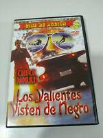 Los Coraggioso Vestito de negro Chuck Norris - DVD - Regione 2 DVD Pal
