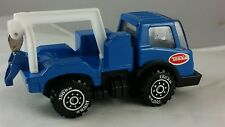 #A2 Vintage Diecast Tonka Blue Tow Truck - Made in Japan