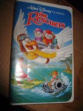Disney Black Diamond Classic The Rescuers VHS 1st 1992