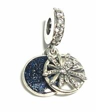 """PANDORA 925 STERLING SILVER CZ """"The best is yet to come"""" Charm, 3.67g  - A27"""