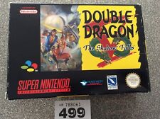 Super Nintendo Snes Double Dragon Shadow Falls