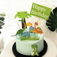 Cute Dinosaur Cake Topper Theme Cake Decoration kids Party Baby Shower