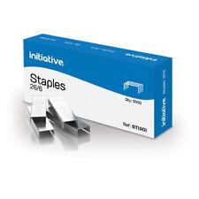 Initiative Staples 26/6mm 210 Staples Per Strip
