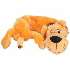 Plush Super Soft Unstuffed Wild Crinkler Lion Dog Toy With Squeak 60x14x9cm