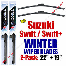 WINTER Wipers 2-Pack Premium Grade - fit 2004-2008 Suzuki Swift/Swift+ 35220/190