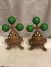 pokemon bonsly Figure (pair Of 2) 3 Inches Each