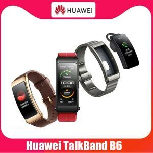 HUAWEI TalkBand B6 1.53 AMOLED Headset Bluetooth 5.2 Heart Rate Sleep Analysis