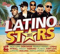 LATINO STARS 2017, ROMEO SANTOS, SHAKIRA,DON OMAR,PITBULL+ 3 CD NEW