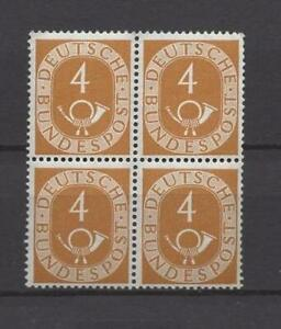 BRD 123 VB, Viererblock, 4-Block, postfrisch! #p638