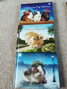 A Guinea Pig:Oliver Twist, Pride&Prejudice, Nativity  3 Books Collection Set NEW