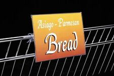 Sign Holders 2 pc. Set (Covered Face) for Gondola Price Channel Rail-2 pieces