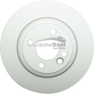 One New ATE Coated Disc Brake Rotor Front 2411227204102 for Mini Cooper