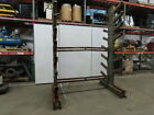 106'L x 70'W x 12'T  Double Sided 8 Branch Cantilever Storage Rack