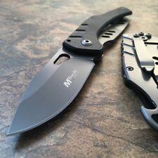 "6"" MTech TACTICAL FOLDING Pocket Knife EDC Steel Blade Bottle Opener G10 Handle"