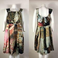 Rare Vtg Vivienne Westwood Anglomania Salon Print Dress XL 46