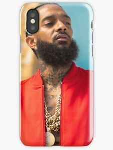 Nipsey Hussle Goat iPhone Case X 6 7 S 8 Plus, Nipsey Hussle iPhone Case