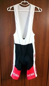 Cycling Bib Shorts Padded size XXL New Hema CP Sports