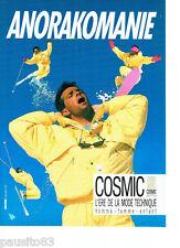 PUBLICITE ADVERTISING 086  1987  vetements anorak de ski Cosmic  sportline 2