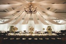 Special package Wedding ceiling backdrop drapes package 40ft /1pcs