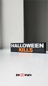 Decorative HALLOWEEN KILLS movie self standing logo display HALLOWEEN 10
