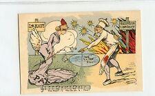 "Vintage China Boxer Era , ""Chinese Cook Murder Angel"" Post Card - Rare"