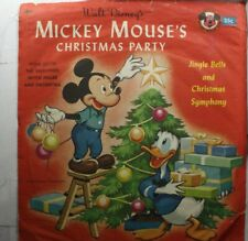 Christmas Picture Sleeve 45 Mickey Mouse & Donald Duck Annie Lloyd & The Sandpip