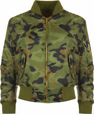 Camouflage Military Coats & Jackets for Women