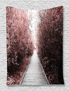 City Park Trees Nature Art Tapestry Wall Hanging for Living Room Bedroom Dorm