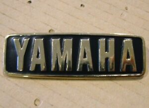 YAMAHA Rear Cowl or Seat Badge for XS1100 Cowling New Metal Emblem YC01/YST01