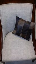 100% GENUINE LEATHER HIDE HAIR ON 12'' x 12'' PILLOW CUSHION COVER, SQUARE PATCH
