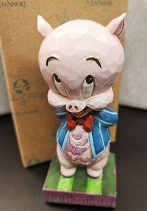 "Jim Shore Looney Tunes Porky Pig  ""It's P-P-P-Porky"" - 4049385 BRAND NEW in Box"