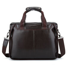 0c88340a8974 Men Leather Satchel Shoulder Bag 17