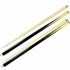 Set of 2 Pool Cues 58 Inch Billiard House Bar Cue Sticks 2 Piece Pool Cue New