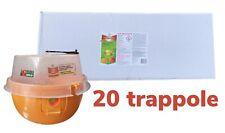 20 Trappole BAYER DECIS TRAP COMPLETE DI ATTRATTIVO CONTRO LA MOSCA Della Frutta