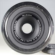 Nikon Micro-Nikkor-P.C Auto 1/3.5 f=55mm -Putzspuren- Zubehörpaket