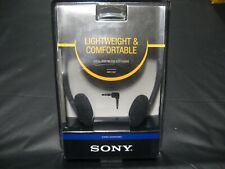 Genuine 2007 SONY MDR-110LP Adjustable BLACK Stereo Headphones NEW!