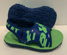 Under Armour Baby Toddler Boys Fat Waterproof Sandals Size - 7K- Blue/Green -7T-