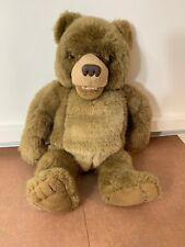 "Kidpower Little Bear Talking Laughing Plush Toy 16"" Tall Maurice Sendak 1998"