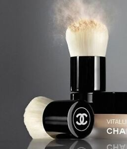 New Chanel Vitalumiere Mini Kabuki Brush (Brush Only)