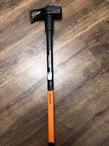 Fiskars Spalthammer X46, 2 In 1: Axt und Hammer 92 X 26 X 8 cm und 3,7 Kg