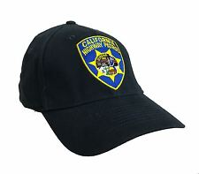 California Highway Patrol Eureka Logo Navy nu-Fit Adulte Fitted Cap M/L