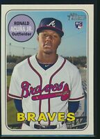 2018 Topps Heritage High #580 Ronald Acuna Jr. Rookie Card RC Atlanta Braves  a
