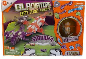 HEXBUG Gladiators Battling Robots Stadium - 3 Gladiators Included!