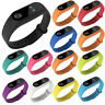 For Mi Band 2 3 4 Wrist Strap Silicone Smart Bracelet Colorful Wristband uk