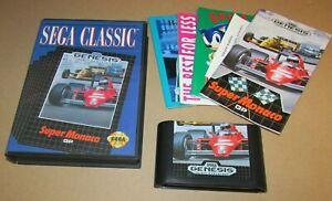Super Monaco GP for Sega Genesis Complete Fast Shipping!