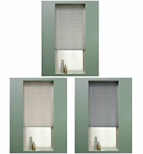 The Collection Pleated Cordless Blind White,Natural,Grey- Choice of size - Argos