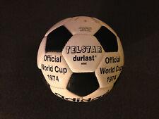 Adidas Fussball Telstar Durlast Mini Miniball Größe 0 Fußball WM 1974 neu new