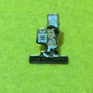 Collectable Pin badge Cosne Nord Boulangeries French Logo Advertising (#BB11)