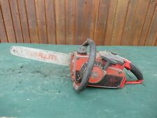 "Vintage HOMELITE Chainsaw Chain Saw with 15"" Bar"