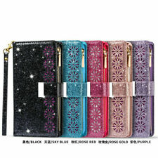 Glitter Wallet Leather Flip Case Cover For iPhone 12 11 Pro XR XS Max 6 7 8 Plus